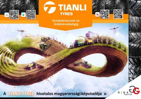 Tianli Tyres 520/85R38(20.8R38)gumiabroncs , készletről