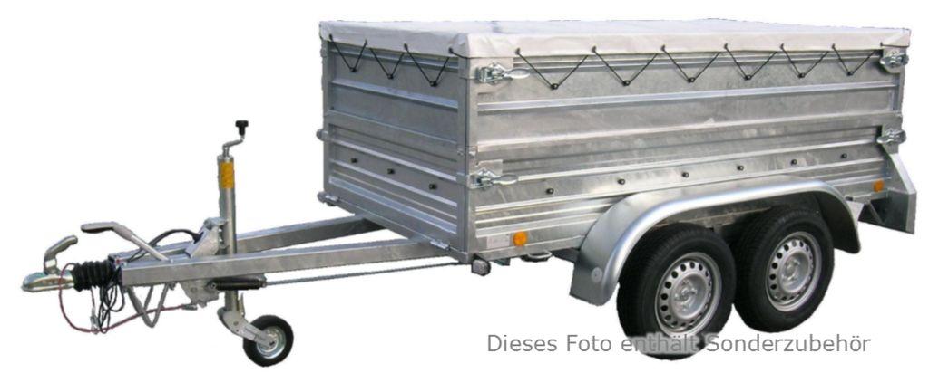 sonstige d trailer welded 250 125 g dandler e u. Black Bedroom Furniture Sets. Home Design Ideas