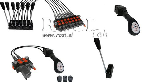 Rositeh Hydraulikventil mit Kreuzschaltung 40L/80L/