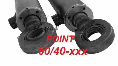 Rositeh Hydraulikzylinder 60/40 GELENKAUGE doppeltwirken