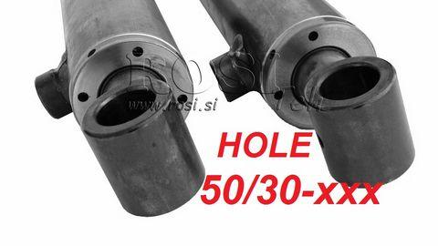 Rositeh Hydraulikzylinder HOLE Querbohrung 50/30