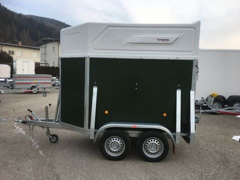Pongratz Viehanhänger VA 145 T, 2600 kg mit Polydach