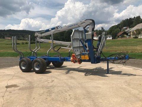 Scandic ST-10S 13t 7,9m 550kg Kran Druckluft sofort verf