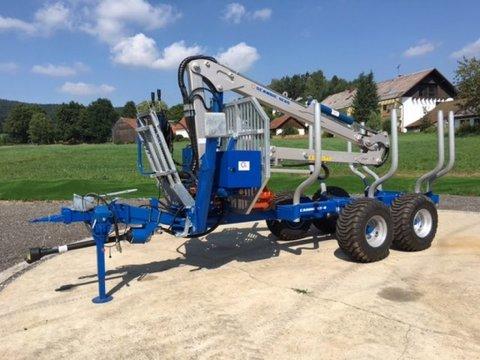 Scandic ST-8 8t 7,1m Kran 600kg Auflauf- Hydraulische