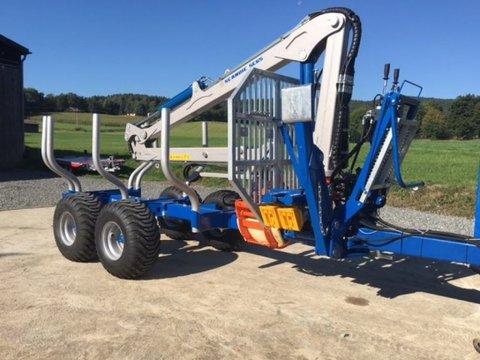 Scandic ST-8 10,5t 7,1m Kran 600kg Druckluft