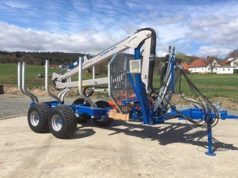 Scandic ST-8 8t 7,9m Kran Auflauf Hydr. 550kg