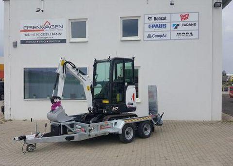 Bobcat  Bobcat Minibagger E17 + 2 Achs-Tandem-Anhänger
