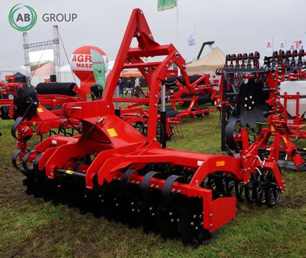 Agro-factory Scheibenaggregat 3m/Disc harrow cultivator 3m TH