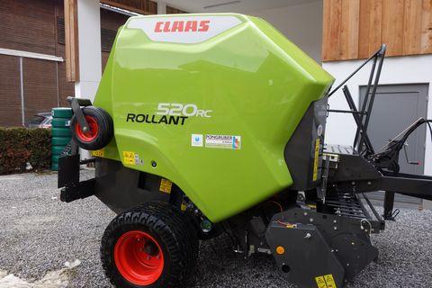 Claas Rollant 520 RC (Roto Cut) Vorführmaschine