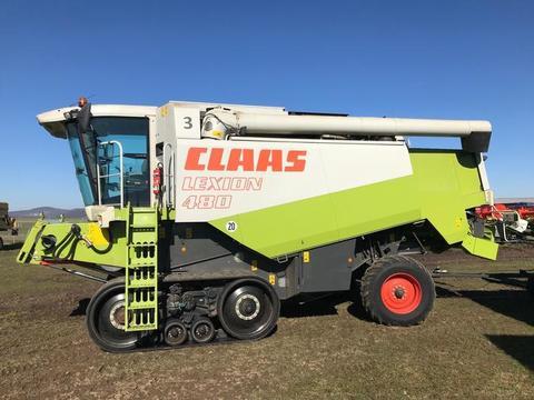 Claas LEXION 480 TERRA TRAC