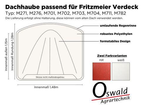 Fritzmeier Dachhaube aus Polyethylen