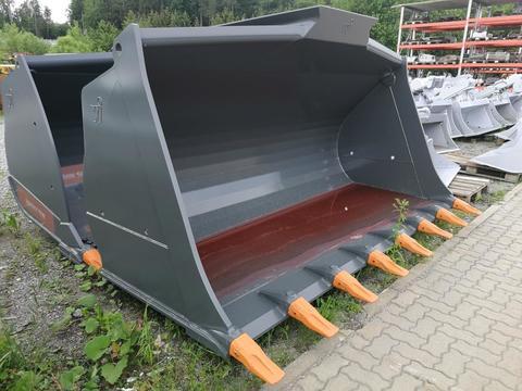 Winkelbauer Erdschaufel 4,5m³ 3200mm CASE 1021G fix verbolzt