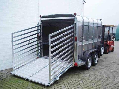 Sonstige Viehanhänger TA 510 G10x6 178x301 3,5t Rampe/Tür