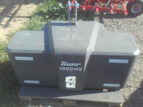 Suer Stahlbetongewicht SB1000 1000 kg Frontgewicht