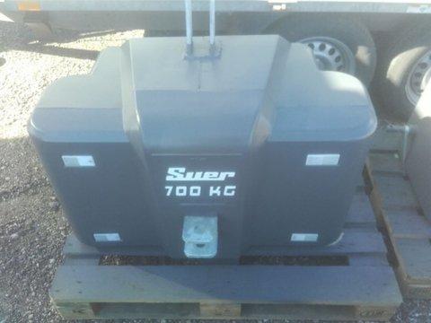 Suer Stahlbetongewicht SB700 700 kg Frontballast