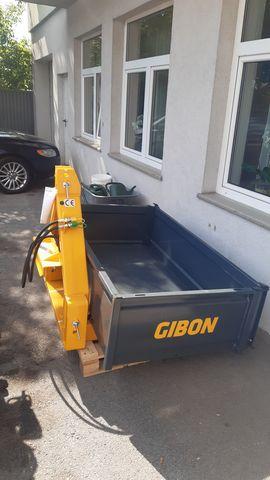 Uniforest Gibon 160/100 hydraulisch doppelwirkend