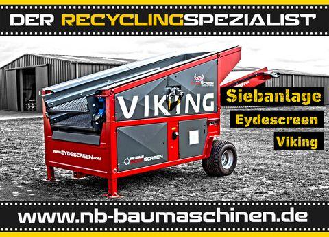 Eyde Screen VIKING Flachdecksiebanlage   Dieselmotor