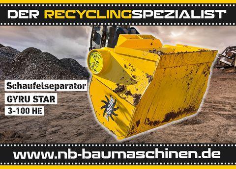 Gyru Star 3-100HE | Schaufelseparator | 4 - 6t