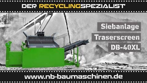 DB Engineering DB-40XL Siebanlage | Flachdecksieb | Siebbox