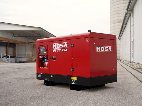 Mosa Stromerzeuger GE 20 YSX | 20 kVA / 400V