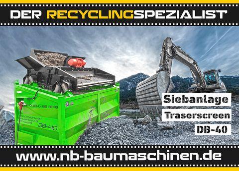 DB Engineering DB-40 Siebanlage | Flachdecksieb | Siebbox