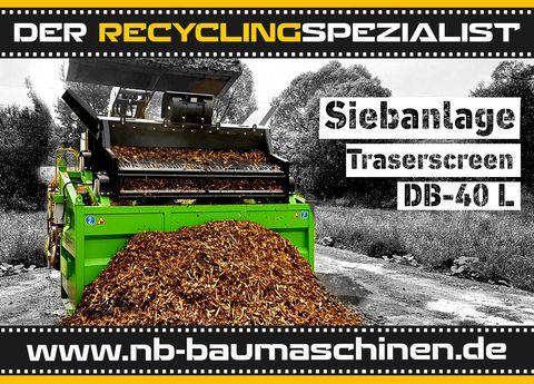 DB Engineering DB-40L Siebanlage | Flachdecksieb | Siebbox