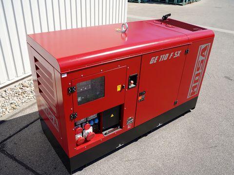 Mosa Stromerzeuger GE 110 FSX   110 kVA / 400V / 159A