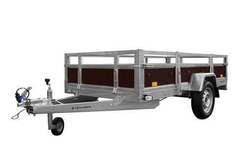 Temared Kleingeräteanhänger WOOD 2612 , 750kg