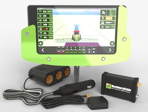 MachineryGuide SM1 GPS sorvezető, nyomkövető
