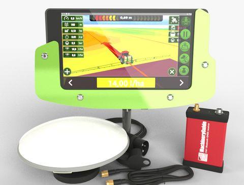 MachineryGuide CM1 GPS sorvezető, nyomkövető