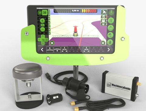MachineryGuide DM1 GPS sorvezető, nyomkövető