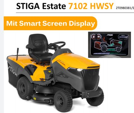 Stiga Estate 7102 HWSY