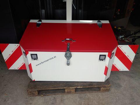 FarmService Forstbox Transportbox 1200 inkl. LED, Warntafeln