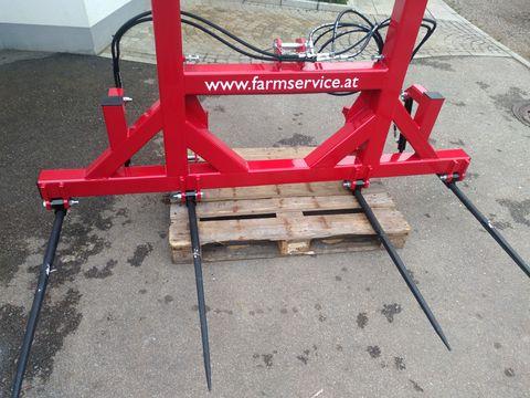 FarmService Ballengabel hydraulisch klappbar Euro.