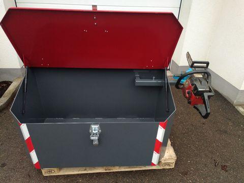 FarmService Forstbox Transportbox 1200 mit Schraubstock