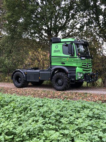 Mercedes-Benz Arocs 2051, Heizotruck V2, Agrar LKW