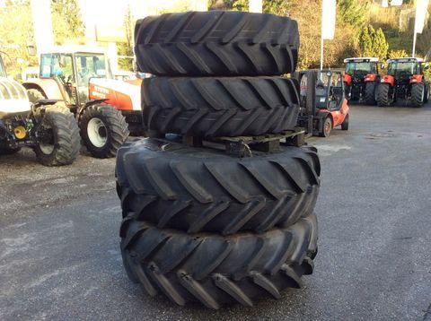 Michelin Garnitur Räder von Steyr Profi - 520/70 R38