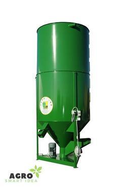 MROL Futtermischer 4000kg / Mischer / Feed mixer / Mi