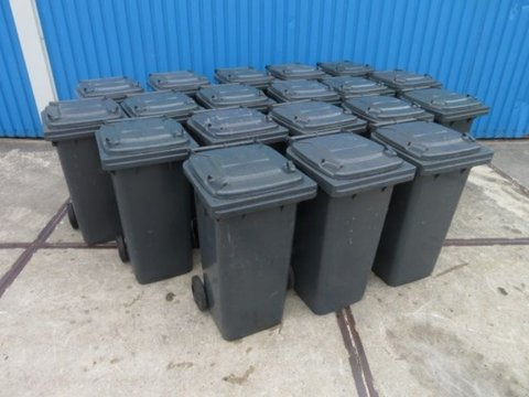 Sonstige Container containers 120L zwart