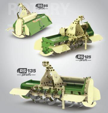 Sonstige FORT STARK RS125 Bodenfräse Heckfräse Ackerfräse