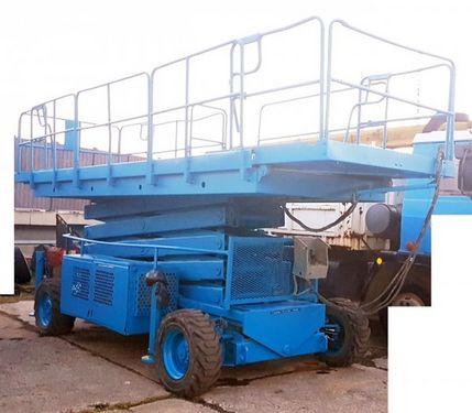 Snorkel UpRight LX50, 4x4, 17m diesel