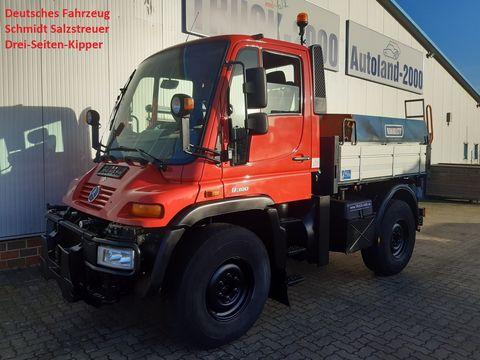 Unimog U300 Winterdienst Streuer Wechsellenkung