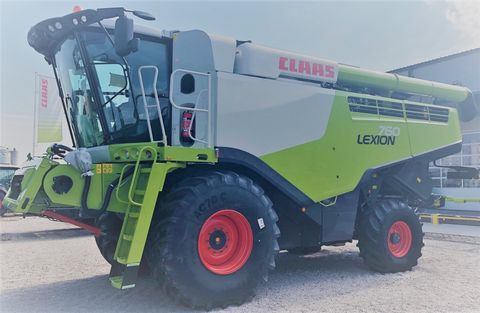 Claas Lexion 760 (Stage IV)