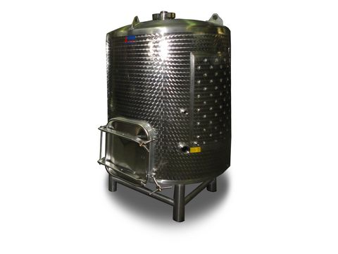 L-Inox Edelstahlbehälter für Champagner