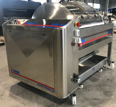 L-Inox PNEUMATIC PRESS 500L - 5000L