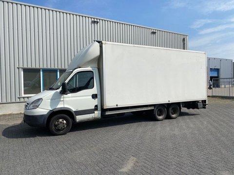 Iveco 40C18T, Clixtar, Veldhuizen, bakwagen, 7500 kg.