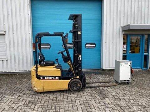 Caterpillar Heftruck, 1,5 ton, Elektro, Sideshift, Freelift,