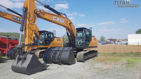 CASE CONSTRUCTION CX 210D LC