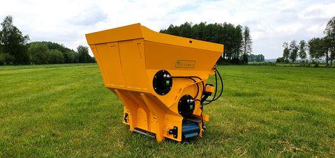 Grutech Einstreugerät hydraulisch angetrieben 1.3 m