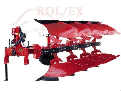 MD Landmaschinen Rol-Ex 3+1 Drehpflug  Non-Stop Federsicherung